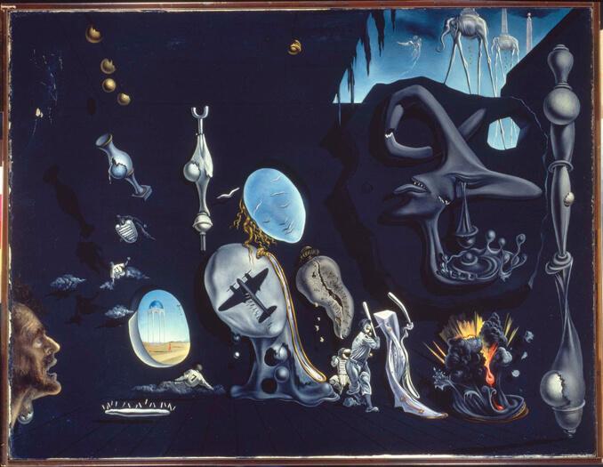 Idiolio Atómico y uránico melancólico de Dalí en el Museo Reina Sofía - La Llave de Madrid
