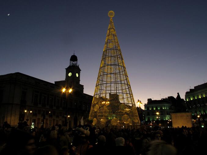 Nochevieja en la Puerta del Sol - La Llave de Madrid