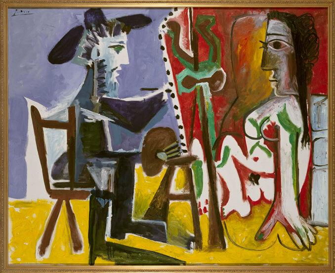 El pintor y la modelo de Picasso en el Museo Reina Sofía - La Llave de Madrid