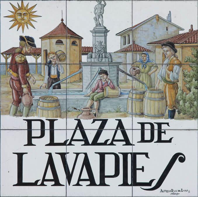 Plaza de Lavapiés en Madrid - La Llave de Madrid