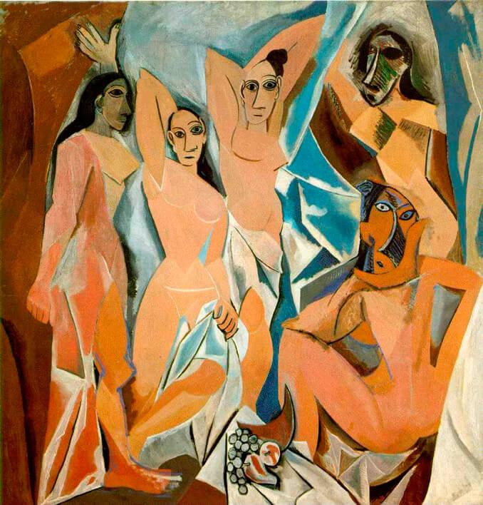 Las señoritas de Avignon de Picasso en el Museo Reina Sofía - La Llave de Madrid
