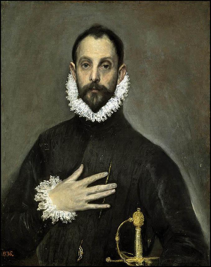 El caballero de la mano en el pecho - La Llave de Madrid