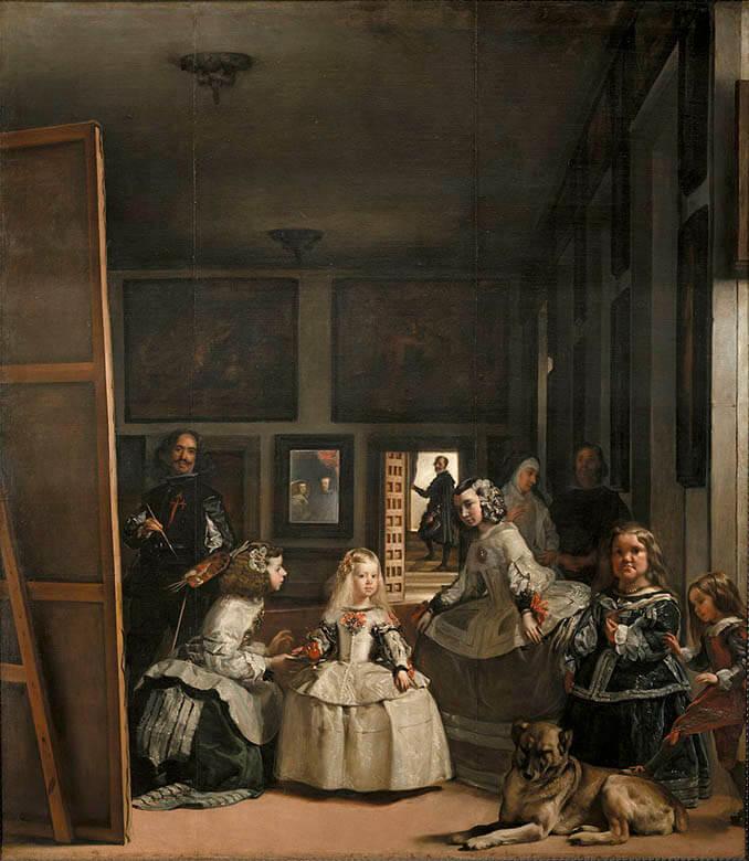 Las Meninas de Velázquez en el Museo del Prado - La Llave de Madrid