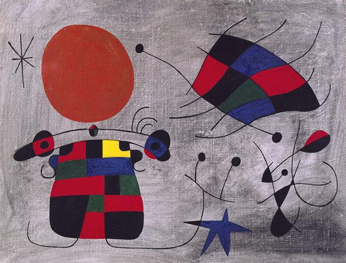 La sonrisa de alas flameantes de Joan Miró en el Museo Reina Sofía - La Llave de Madrid